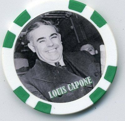 Louis Capone  Gangster  Collector Chip