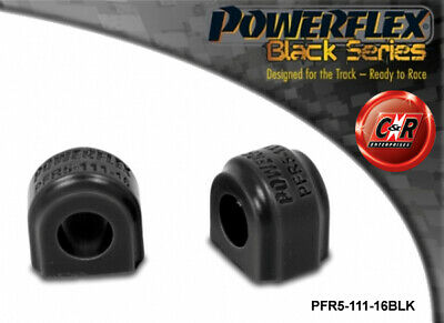 BMW Mini1 R50 Coupe 09/00-11/06 Powerflex Black Rr ARB Bush 16mm PFR5-111-16BLK