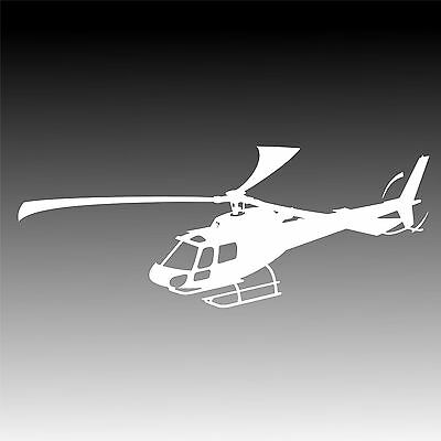 AS350 Eurocopter In Flight Decal Astar Helicopter Pilot Crew Sticker 1