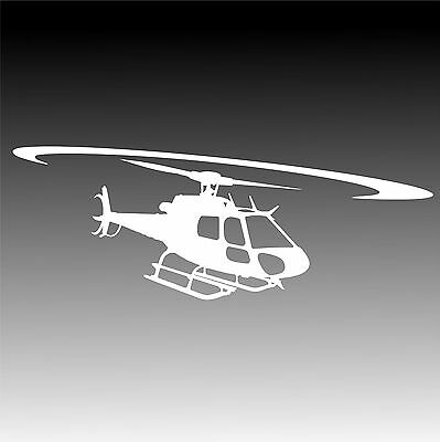 AS350 Eurocopter In Flight Decal AStar AS 350 Helicopter Pilot Sticker 4