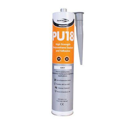 High Strength Polyurethane Adhesive & Sealant Grey Pu18 Marine Koi Fish Pond