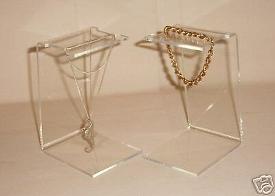 pack of 3 acrylic display stands swarovski hanging stars etc