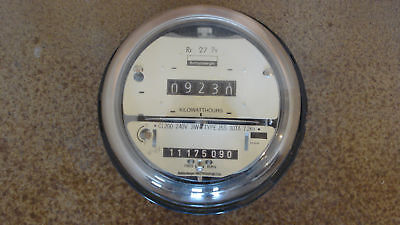 SCHLUMBERGER WATTHOUR ELECTRIC POWER METERS TRAILER COURT HOT TUBE GEOTHERMAL