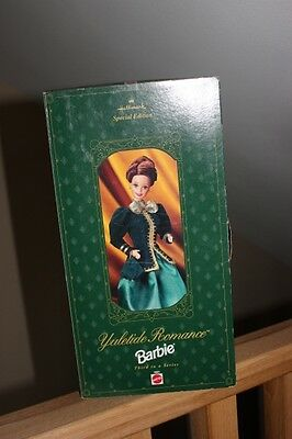 Hallmark Mattel Special Edition Yuletide Romance Barbie 3rd In Series  NeW