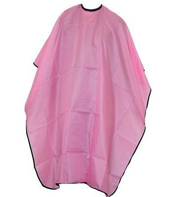 Pink Hairdressers Cutting Cape Gown Smock Mobile Hairdressing Hair Beauty Salon