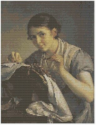 The Lacemaker Cross Stitch Kit by Florashell