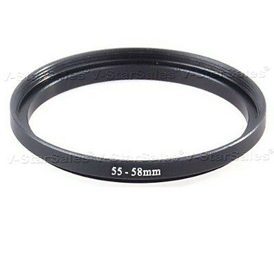 55-58mm Step-Up SLR Lens Metal Adapter Ring