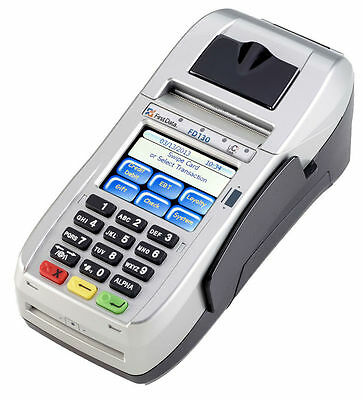 First Data FD130 EMV NFC (Dial/IP) Credit Card Machine *OS UPDATED AND UNLOCKED*