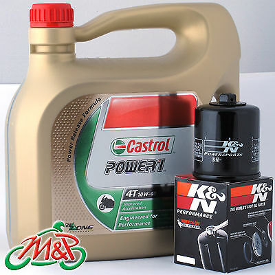 Honda CB 900 FA D.O.H.C. 1980 Castrol K&N Oil Filter Kit