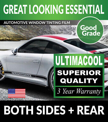 99% Uv + Superior Quality Precut Window Tint For Mercedes S500 4Dr Long 94-99