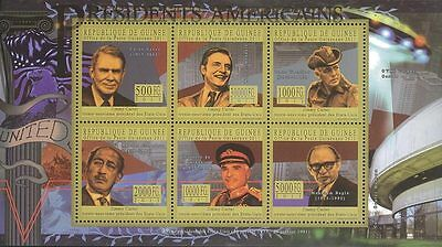 Republic of Guinee 2011 Stamp, GU11120A President of USA, Jimmy Carter, Famous