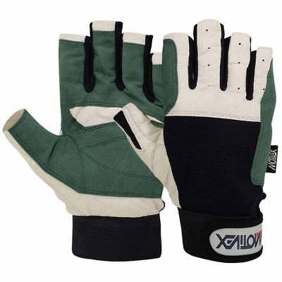 Sailing Gloves Yachting Rope Kayak Dinghy Fishing Water Ski Cut Fingers Glove S