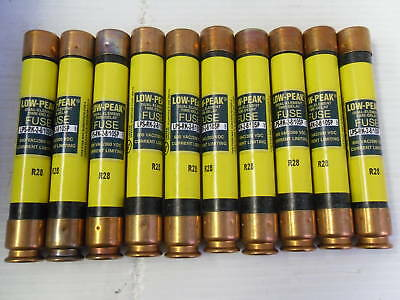 Nice Lot Bussmann LPS-RK- 2 8/10 sp Amp Fuses Low-Peak 600V