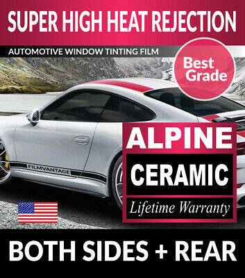 Alpine Precut Auto Window Tinting Tint Film For Plymouth Breeze 96-00