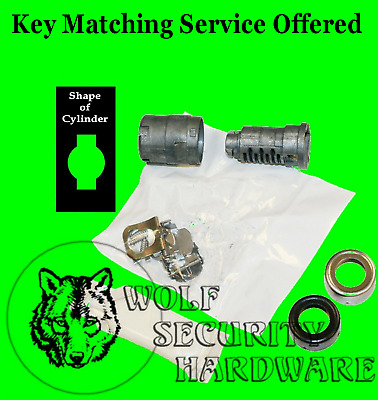 GM OEM Single Door Key Lock Cylinder Uncoded Unassembled Strattec 706592