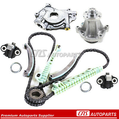 Toyota 2.7L Engine Timing Cover Kit Balance Shaft Chain Set Water Oil Pump 3RZFE