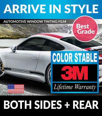 Precut Window Tint W/ 3M Color Stable For Acura Integra 2Dr 90-93