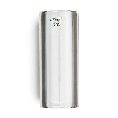 Jim Dunlop Tempered Glass Guitar Slide, Heavy wall, Medium *NEW* 20x29x69