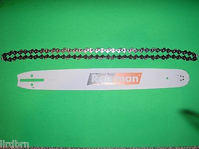 """Husqvarna, Jonsered 20"""" Bar & Chain Combo For Chainsaws, 3/8"""" Pitch, .050"""", 72Dl"""