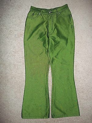 Route 66 Jeans Size 12 Green 25X28