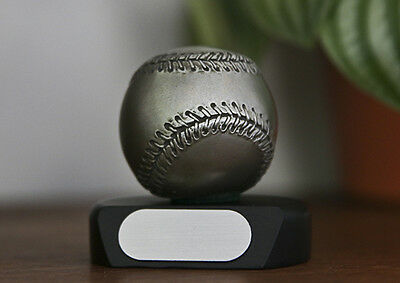 Pewter Baseball Paperweights made by a Lenox Company - FREE shipping