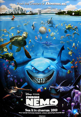 """FINDING NEMO"" ...Modern Classic Childrens Animated Movie Poster A1A2A3A4Sizes"