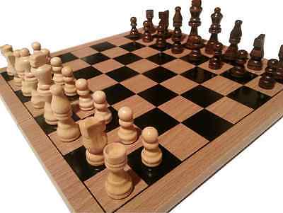 Traditional Chess Board And Pieces - Board And Pieces Also Sold Seperately