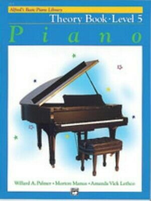 Alfred's Basic Piano Library Course: Theory Book, Level 5 / Five *NEW* Music