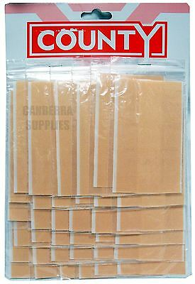 County Sales Fabric Strip Dressing First Aid Plasters Pack of 36 Strips