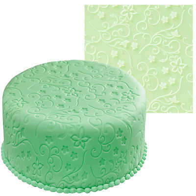 Wilton Graceful Vines Fondant Icing Imprint Mat Sugarcraft Cake Decorating