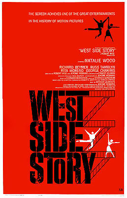 """""""WEST SIDE STORY""""..Natalie Wood ..Classic Musical Movie Poster A1A2A3A4Sizes"""