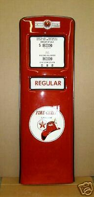 New Texaco Fire Chief Gas Pump Front Door Display - Free Shipping*