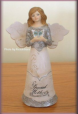 PAVILION ELEMENTS SPECIAL MOTHER ANGEL FIGURINE 5.5 INCHES FREE SHIPPING