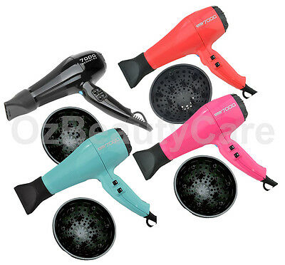 Wahl 2400W MegaStar 7000 Professional Hair Dryer Tourmal Ionic WD7000- 4 Colours