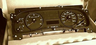 5U9T-10849-De Ford Speedometer Panel Instrument Cluster  Coachmen Rv New