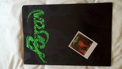 Poison Open up and say ahh tour program