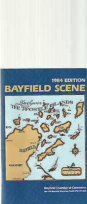 1984 Guide to Bayfield Wisconsin Apostle Islands Madeline Island