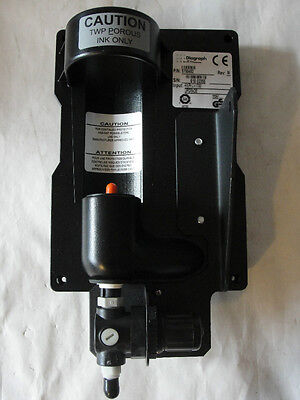 New Itw Diagraph 5750452 Twp Porous Ink Only Regulator 7.0 Psig Output