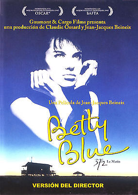 """BETTY BLUE"".. Classic Sultry French Movie Poster A1A2A3A4Sizes"