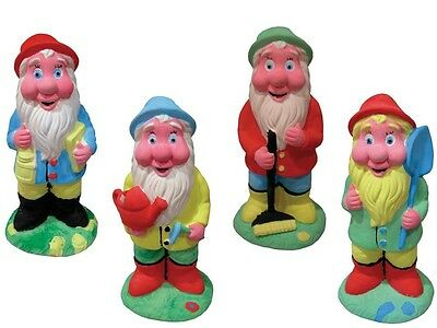 Childrens Paint Your Own Garden Gnome Set Childrens Craft Set PYO Gnome Set