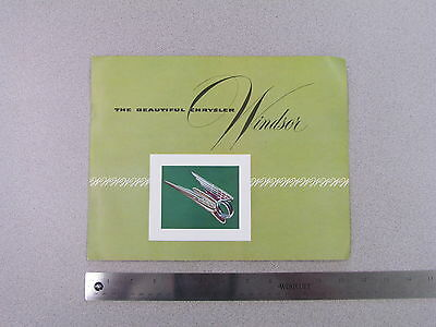 1954 Plymouth Hy-Style Sales Brochure; dealer catalog S0029 ad advertisement