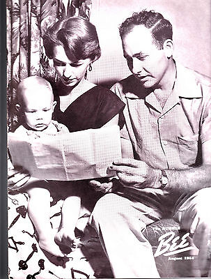 August 1954 The Humble Bee (Humble Oil Magazine) Carl & Bobo Collins