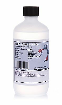 500ml MPG Propylene glycol USP/EP  99+%•Pharmaceutical grade•Superb quality•