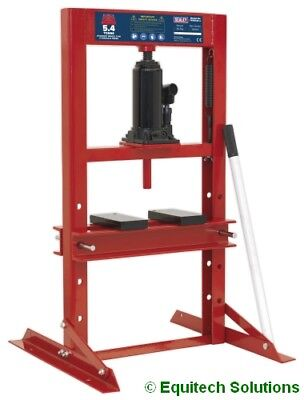 Sealey Tools YK6ECB 6 Ton 6T Hydraulic Bench Press with Pressing Plates New