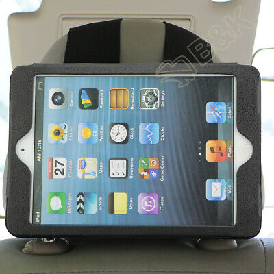 Adjustable Car Seat Headrest Holder Mounting Strap Case for iPad Mini 2 3 4 7.9""