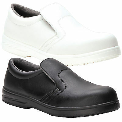 Slip On Safety Shoe With Anti Resistant Slip for Catering Kitchen Hospital