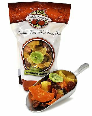 SweetGourmet Tropical Fruit Salad (dried fruits) - 1Lb FREE SHIPPING!