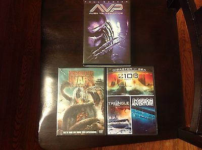 LOT OF 3 DVD-ALL 5 MOVIES-GREAT CONDITION-CHEAP !!!