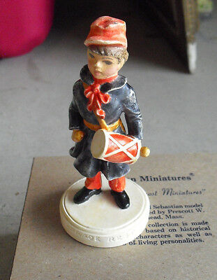 Vintage Sebastian Miniature Figurine - Parade Rest 6233 SIGNED in Box