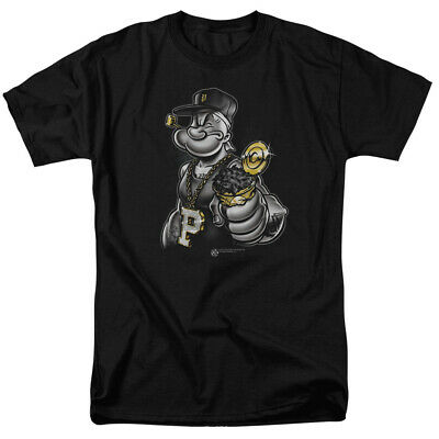 7d84dc6b84 POPEYE THE SAILOR Man 1960's Cartoon Super Spinach Sailor Adult T ...